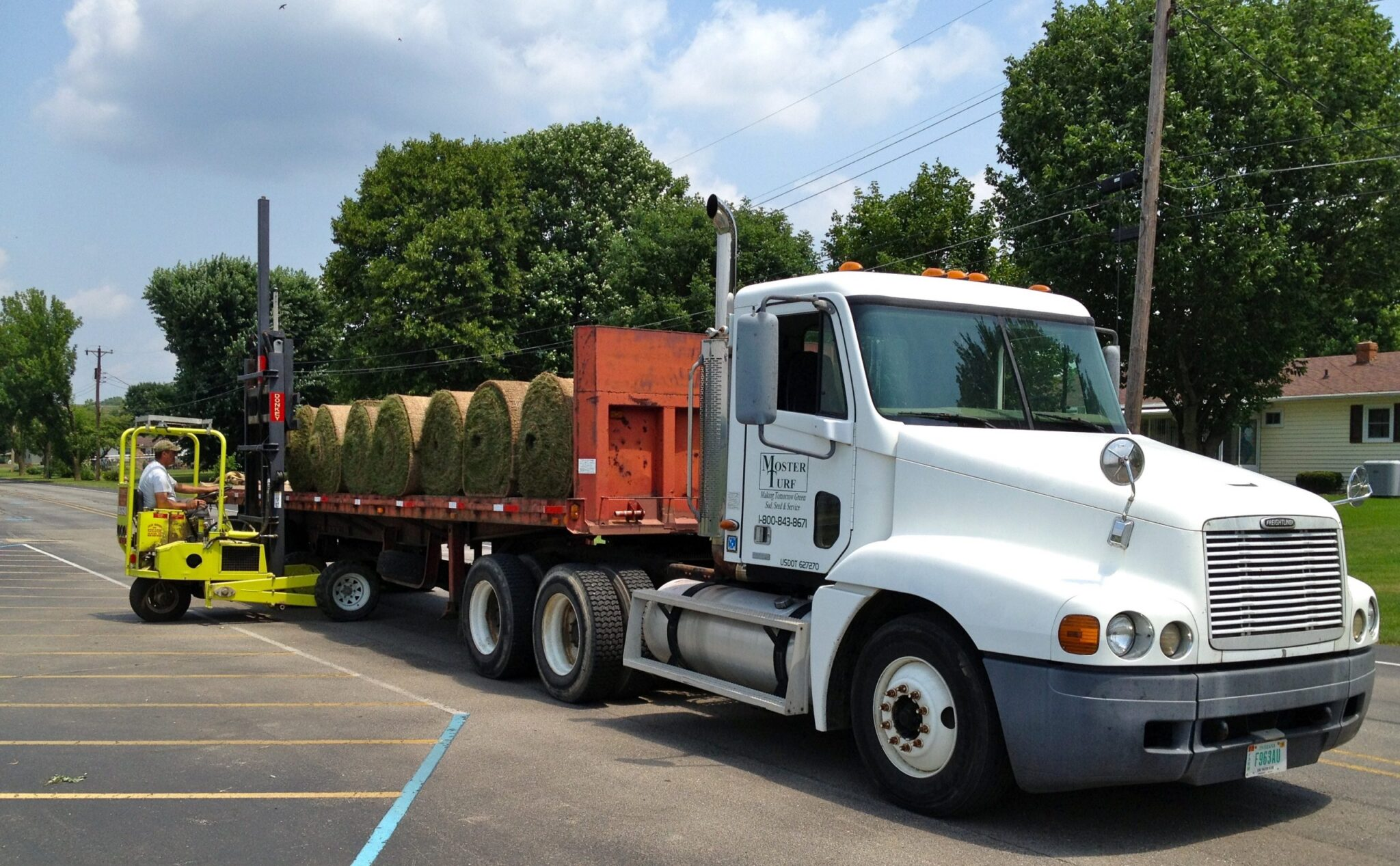 Turf Product Delivery